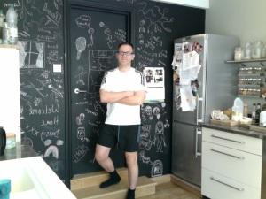 kitchen blacboard