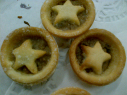 Festive pies for a celebratory staff meeting