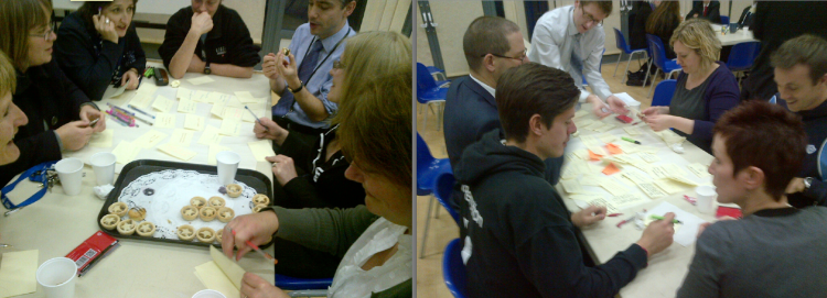 Animated Group Discussions about Success Factors at KEGS
