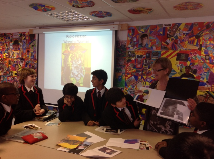 Showing understanding through visual representation.