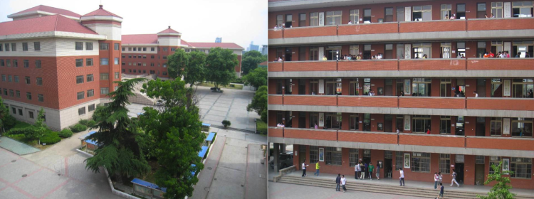 Wuxi No 1 High School. 2000 students age 15-18. (Y11-Y13)
