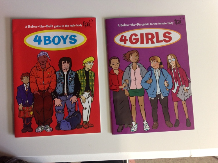 The FPA Boys and Girls Leaflets.