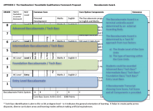 The Headteachers' Roundtable Bacc Framework