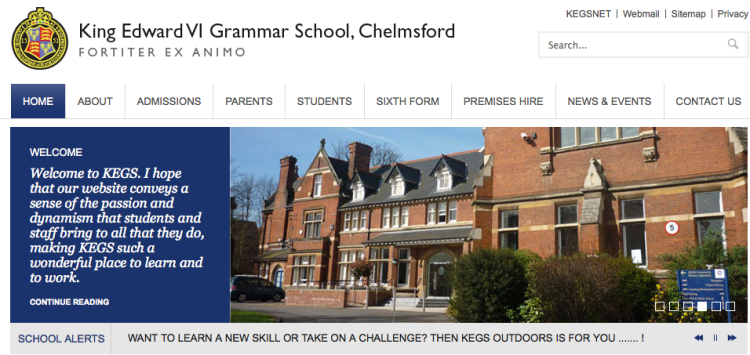 The KEGS website.  We offer specialist provision for able students.