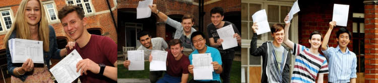 Press Photos from A Level and GCSE Results Days.  A time for celebration.