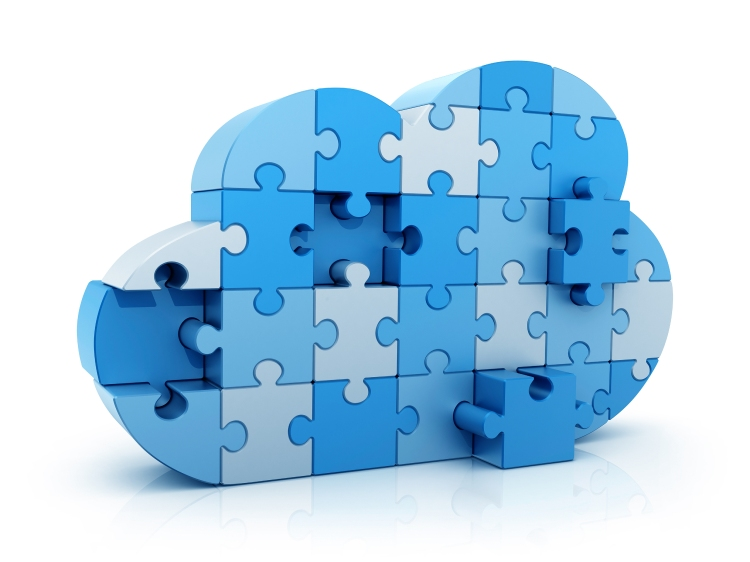 A cloud  - wide-ranging complex ideas; made up of interlocking definable elements.