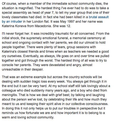 Guardian Teacher Network post.