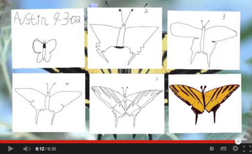 Austin's Butterfly.  The final draft was always within him. It just needed to find a way out.