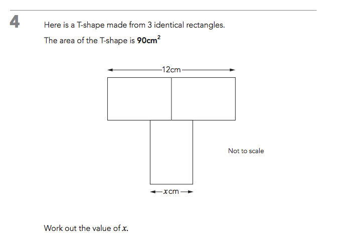 Level 6 Maths at KS2. What's the problem? (3/3)
