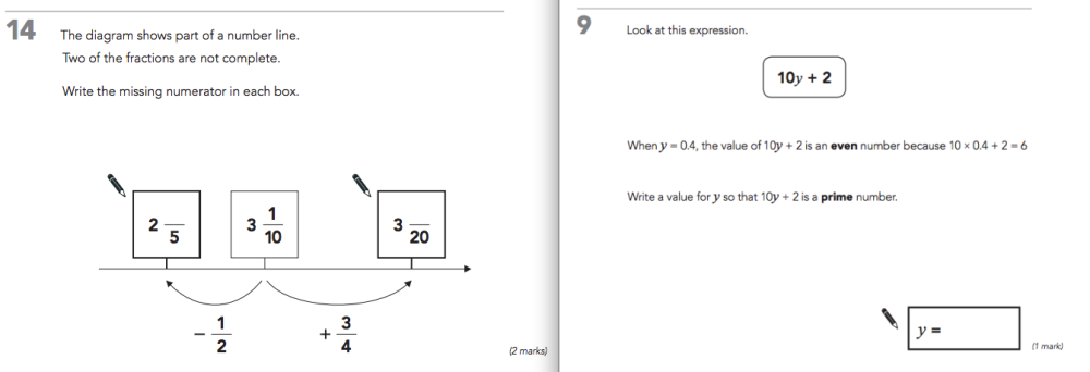 Level 6 Maths at KS2. What's the problem? (2/3)