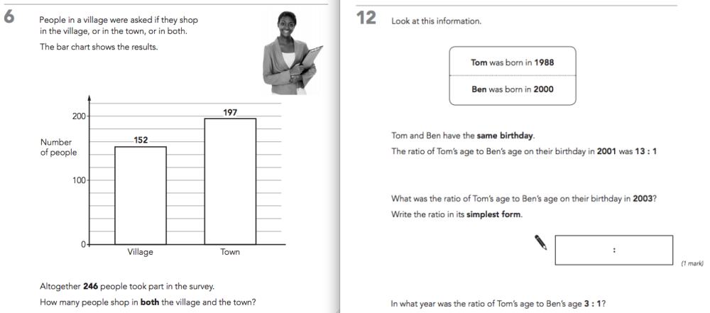 Level 6 Maths at KS2. What's the problem? (1/3)