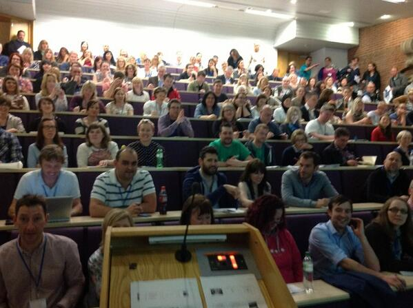 The audience for my #NRocks presentation