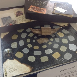 A board game from the British Museum Project