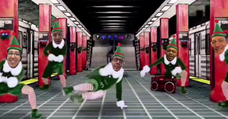 ElfYourSelf - a bit of light entertainment to round things off.