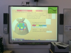 Interactive  presentation tools for teaching maths.