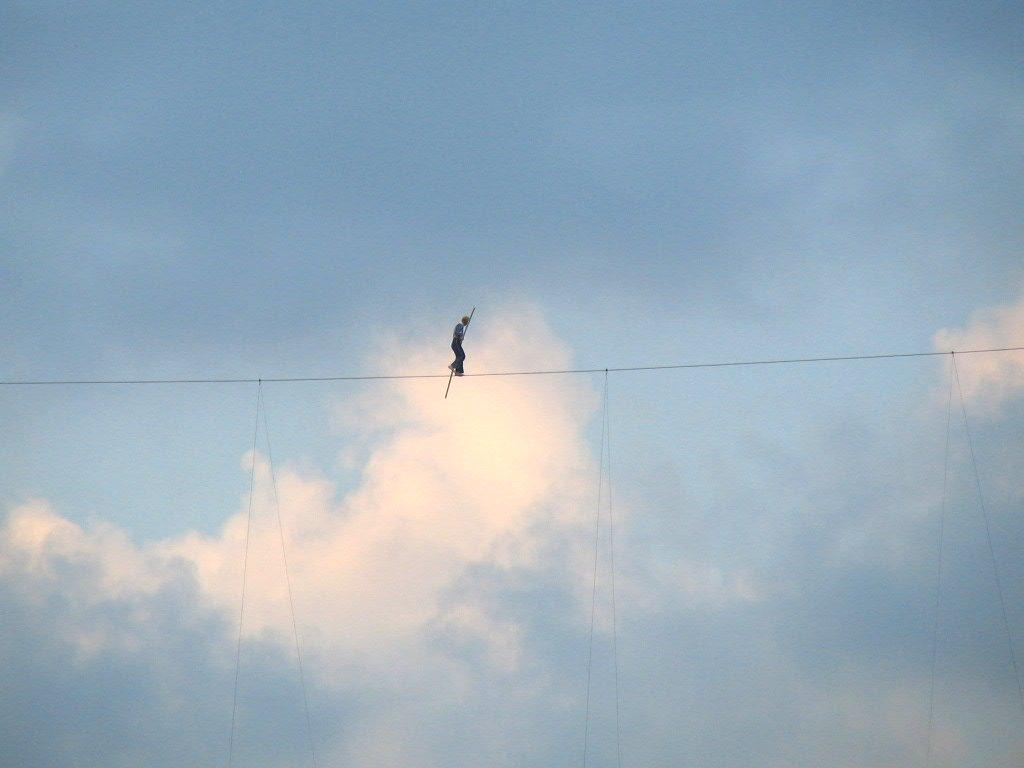 Walking the tightrope teacherhead 397358910pemhnwfs hexwebz Image collections