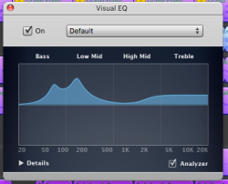 Playing with the EQ