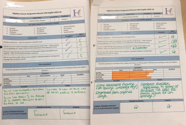 Our assignments guide the assessment process
