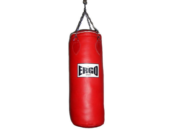 ergo boxing www.boxingcorner.co.uk red punchbag