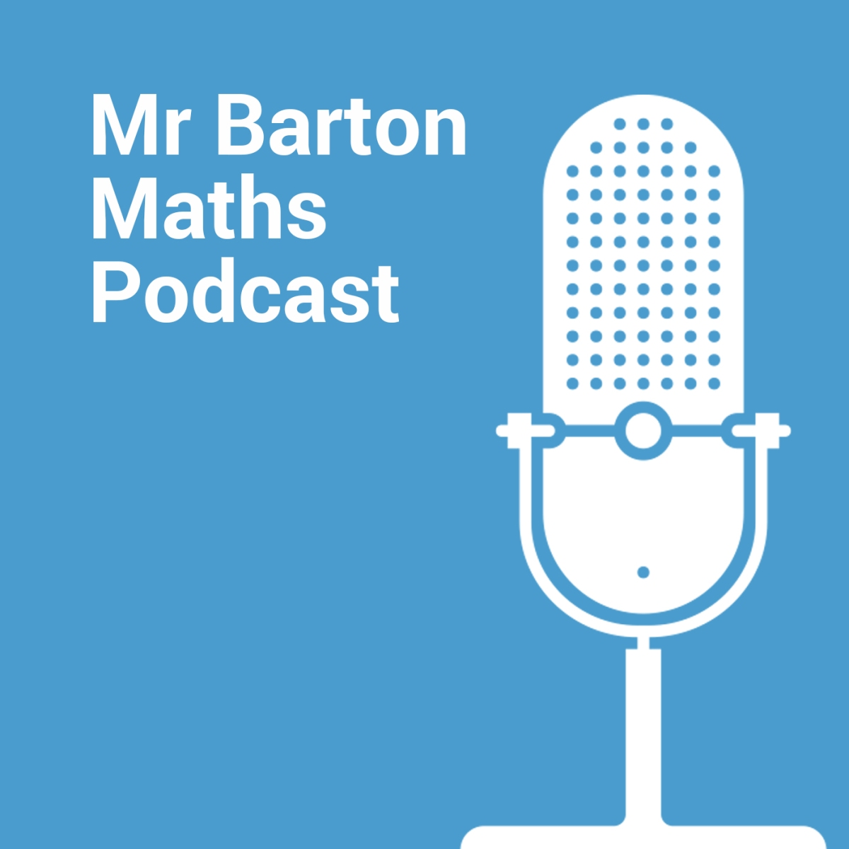 My chat with Craig Barton on the @mrbartonmaths podcast