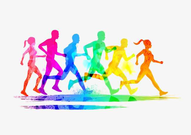 running-race-png-hd-stained-group-runners-buckle-creative-hd-free-stained-group-runners-run-start-of-a-race-free-png-image-650