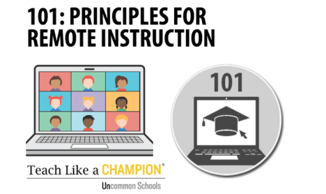 Principles for Remote Instruction: Notes from a #TLAC Masterclass.