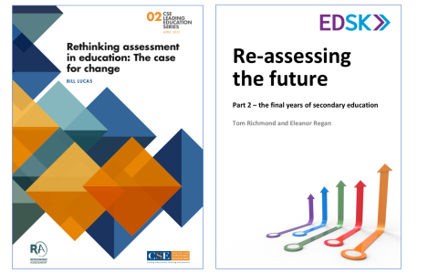 Assessment Thinking: Two newreports.