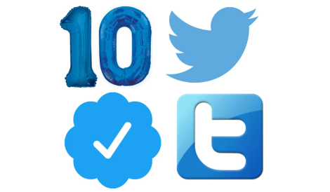 10 Years onTwitter…